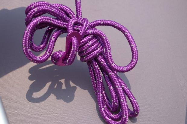 粗繩與鋁製滑片