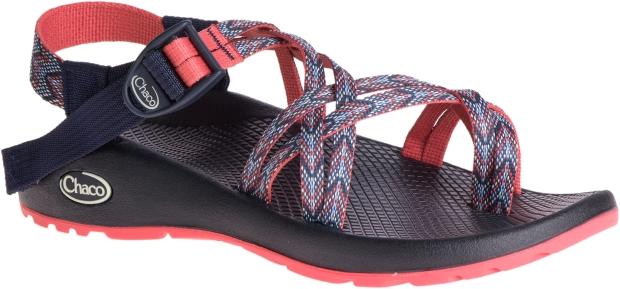 Chaco 女越野運動涼鞋細織夾腳款-映象日蝕