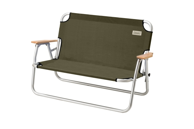 Coleman輕鬆摺疊長椅-綠橄欖